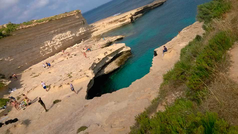 St Peters Pool in Malta