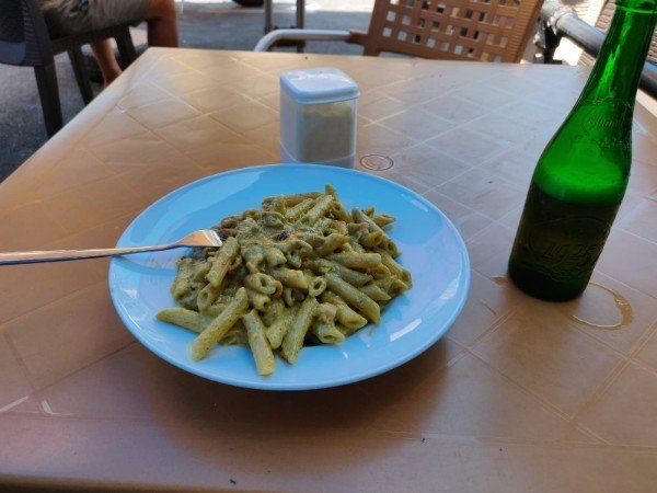 Pasta en St Julians